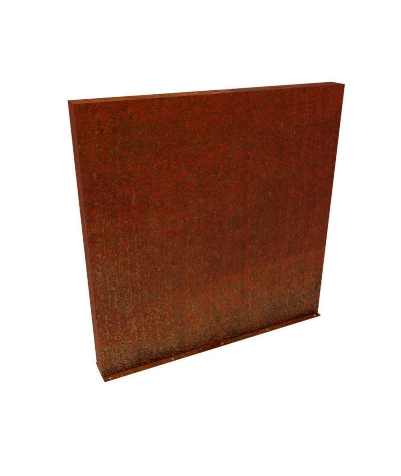 Corten Steel Wall Sede On Sale Made Of Corten Steel Viridi Space
