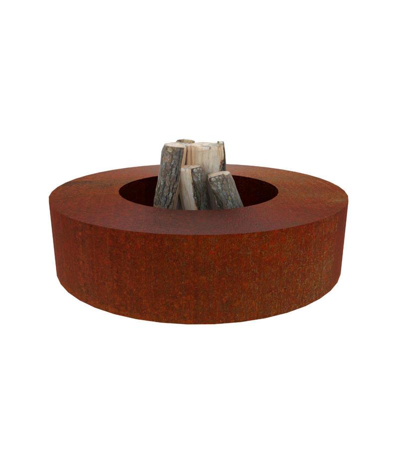 Corten Steel Fireplace Toro On Sale Made Of Corten Steel